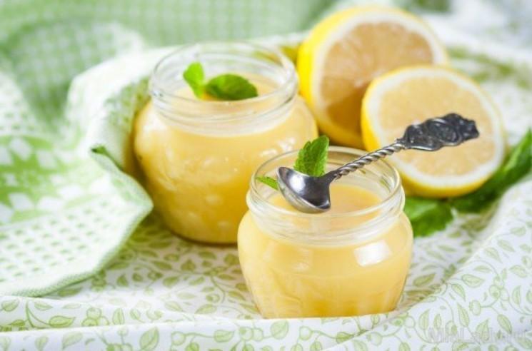Крем лимонный