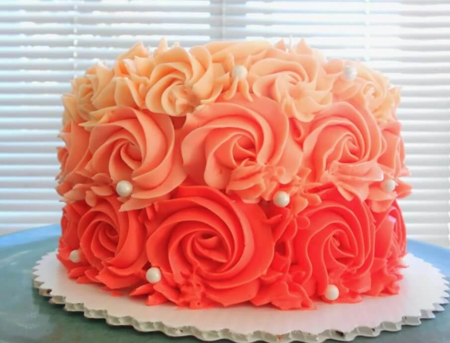 Вкусный апельсиновый торт
