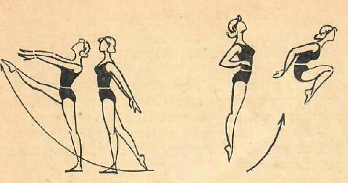 Комплекс упражнений утренней зарядки для женщин