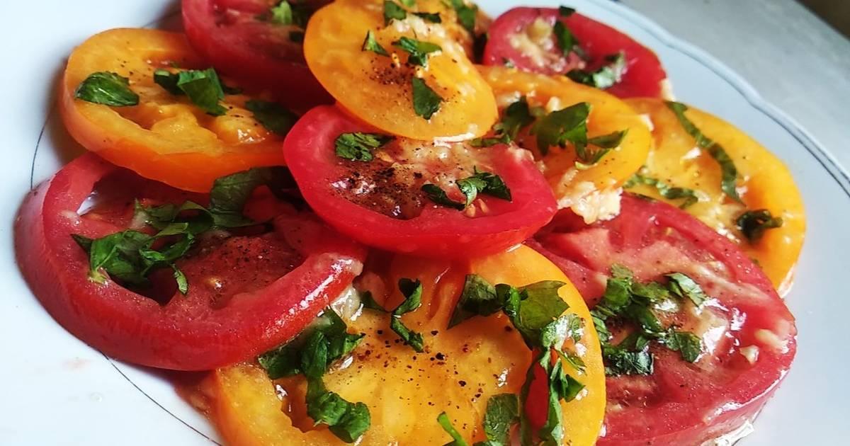 Помидоры по-итальянски закуска